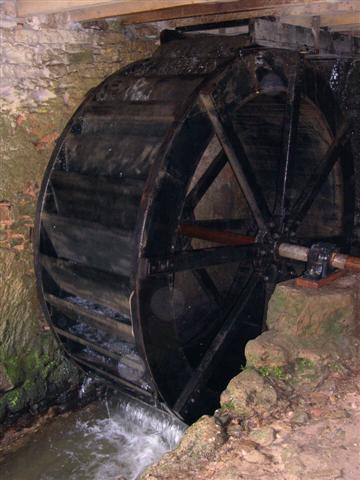 fully operational working water mill