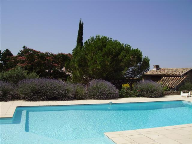 Beautiful swimming pool at Baronnerie, self catering holiday home in Poitou Charente