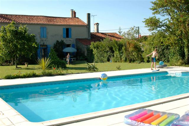 Les Meuniers 4 bedroom self catering holiday home in the Vendee, Pays de la Loire