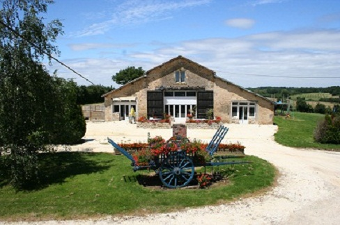 games barn at La Grange holiday complex in the Vendee
