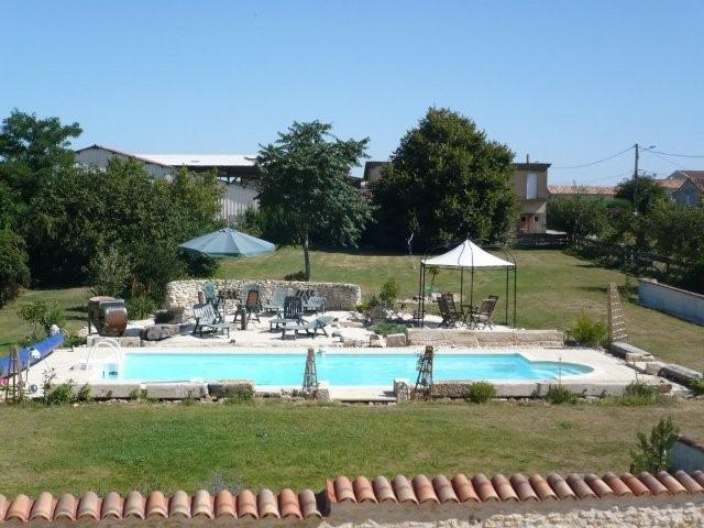 heated swimming pool at Pumphouse La Forge in the Vendee