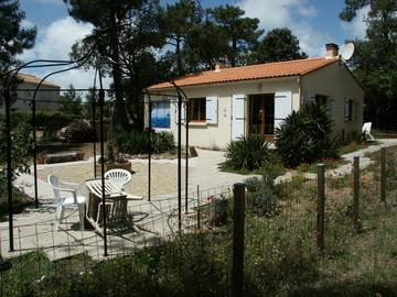 beach villa at Les Conches near La Tranche sur Mer, Vendee, France